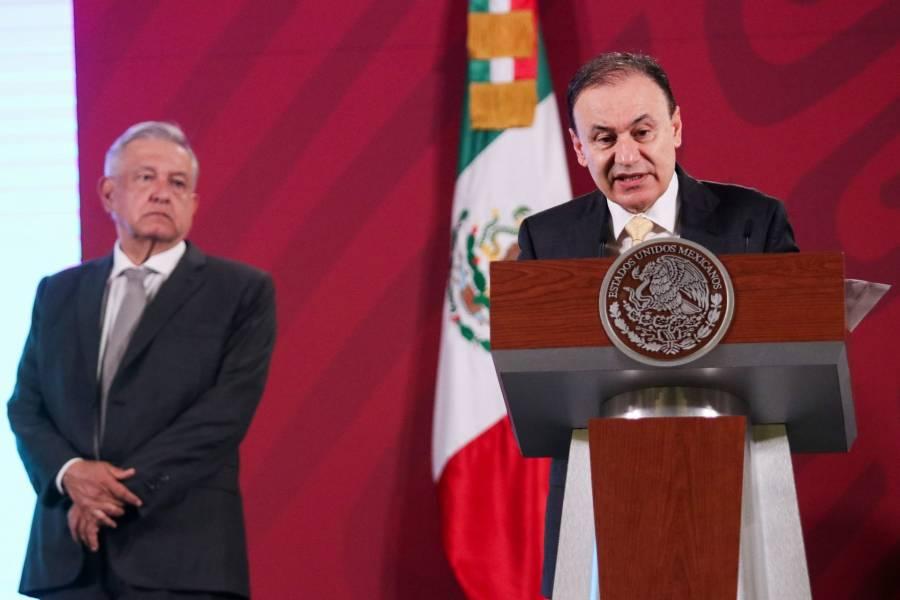 Alfonso Durazo es libre, dice AMLO ante posible renuncia