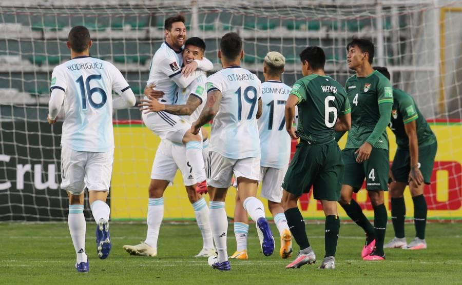 Tras 15 años, Argentina vence a Bolivia como visitante