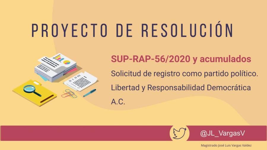 Propone magistrado ratificar negativa de registro a México Libre