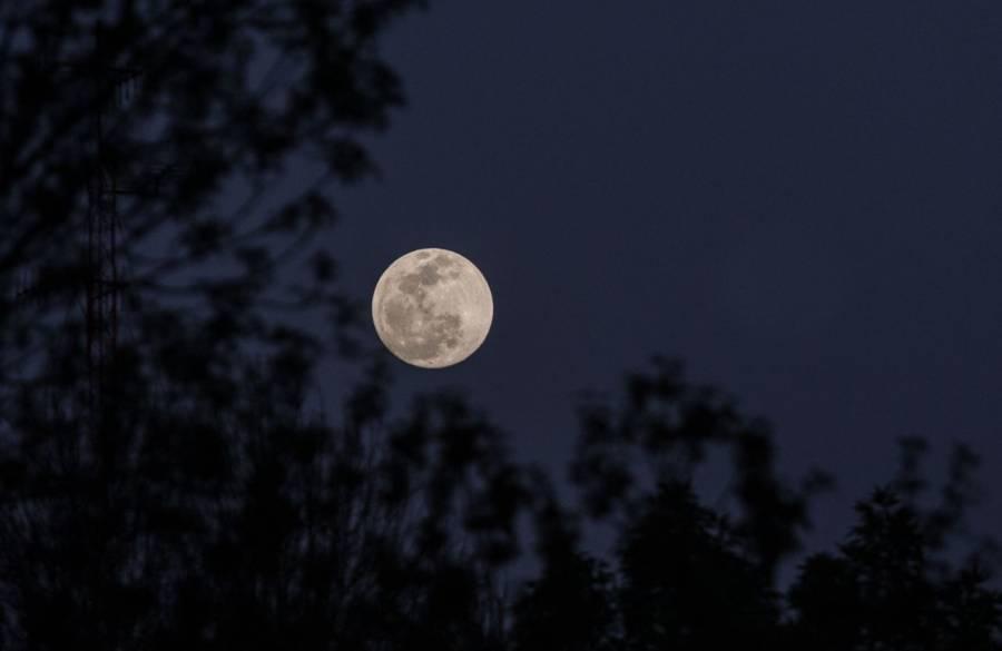 Así podrás ver la Luna Llena azul en México