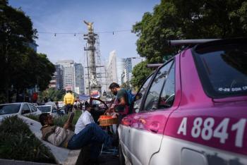 Taxistas exigen a Segob avanzar en acuerdos