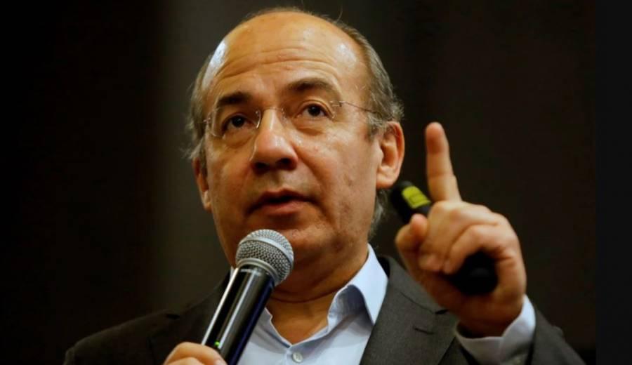 """Felipe Calderón califica de """"injusto"""" negar el registro a México Libre"""