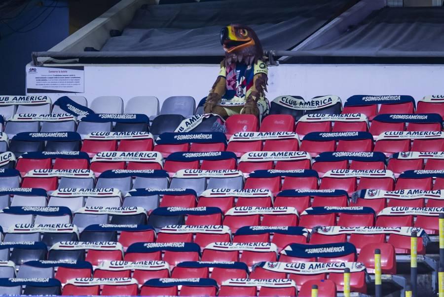 América seguirá jugando en el Azteca a puerta cerrada