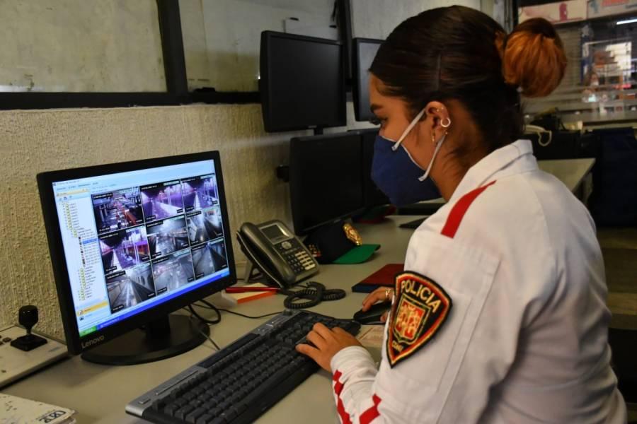 Metro CDMX activa centros de monitoreo para vigilancia y seguridad de usuarios