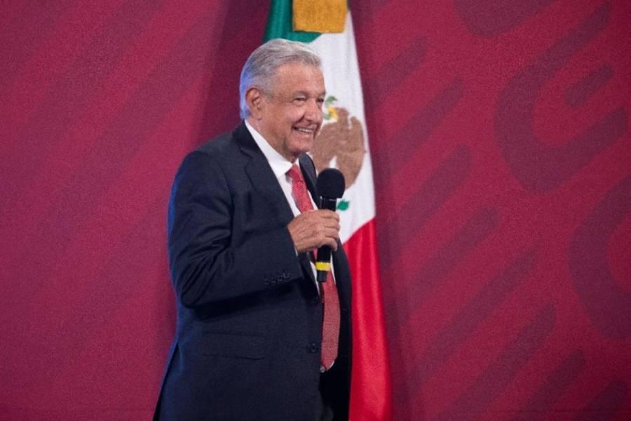"""Transparencia internacional antes no medía la corrupción """"arriba"""", responde AMLO"""
