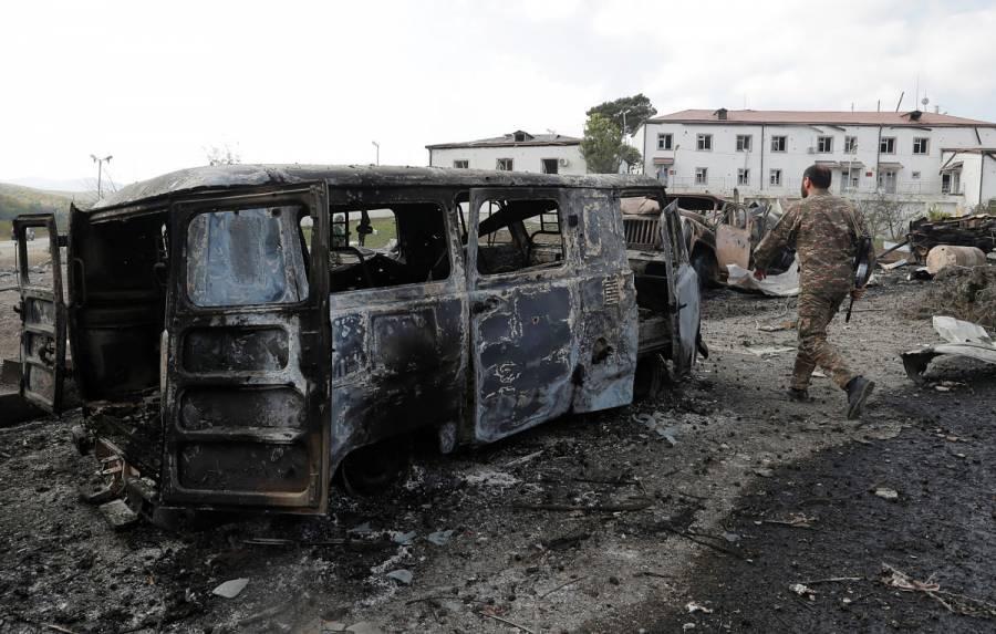 La esperanza de un cese fuego en Nagorno-Karabaj se complican por un aumento de las muertes