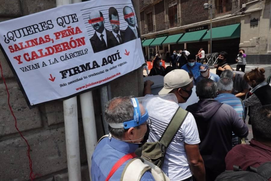 Morena presenta iniciativa para que consulta popular se lleve a cabo el día de elecciones intermedias