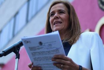 Margarita Zavala acusa presiones del Ejecutivo al TEPJF para negar registro a México Libre