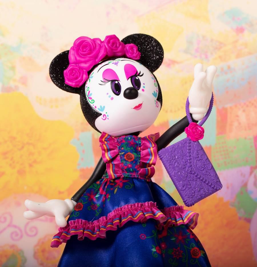 Minnie Catrina llega en temporada de Día de Muertos