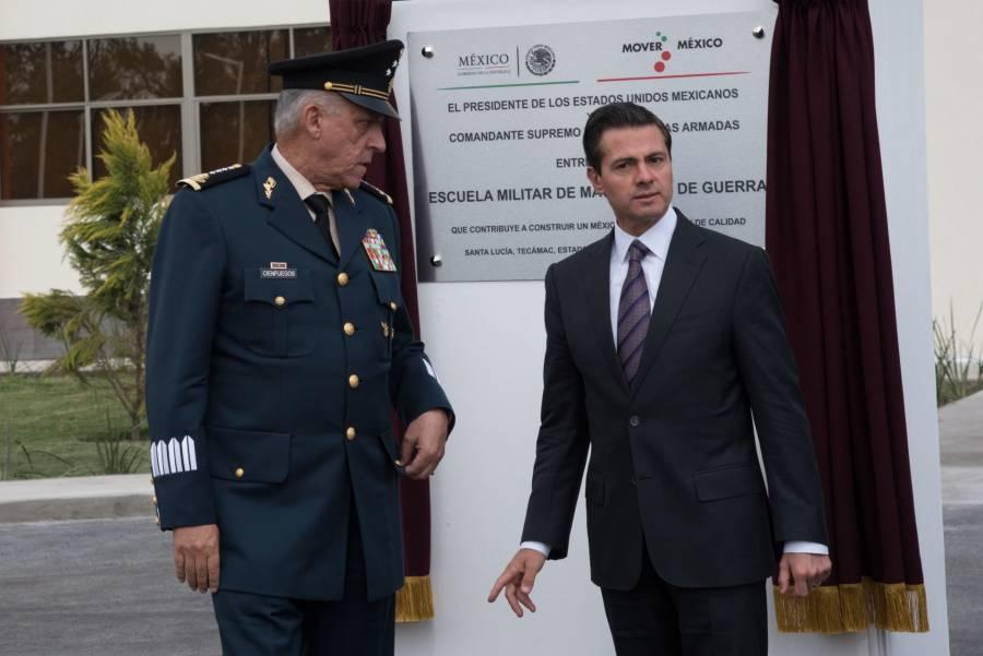 Detienen al extitular de Sedena en EU por narco