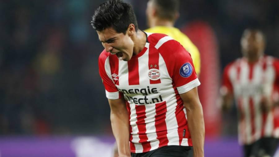 Erick Gutiérrez prepara su regreso con el PSV