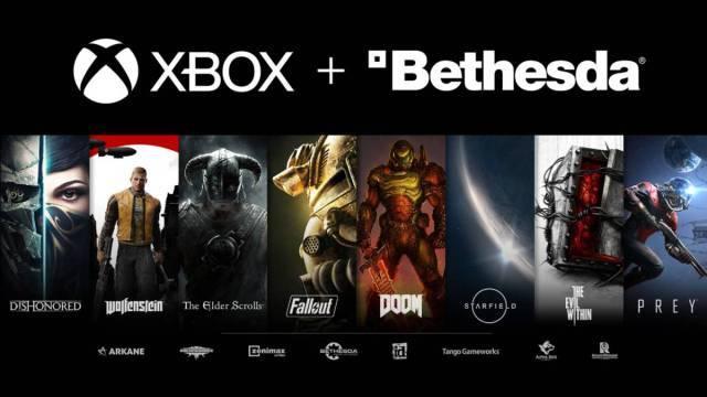 Juegos de Bethesda estarían sólo en Xbox