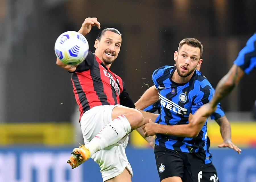 Ibrahimovic fulmina al Inter en el derbi de la Madonnina