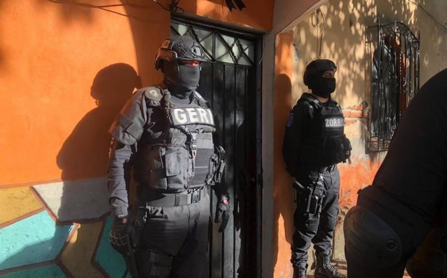 Cuatro predios asegurados y cinco detenidos tras cateos en alcaldía Azcapotzalco