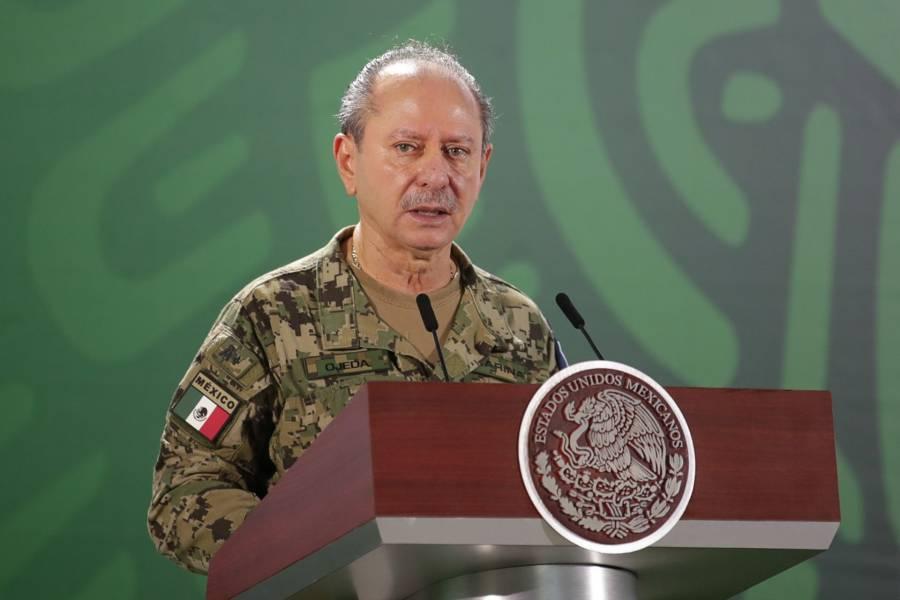 Rafael Ojeda, titular de la Semar, positivo a COVID-19