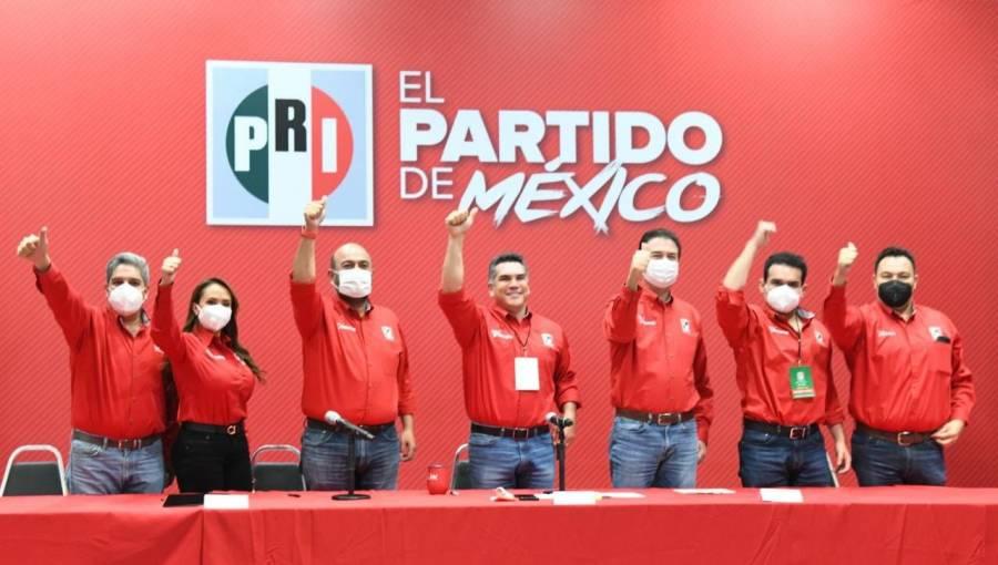 Alejandro Moreno declara al PRI ganador de elecciones en Hidalgo y Coahuila