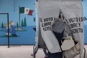 Casilla de Hidalgo suspendida por quema de material electoral