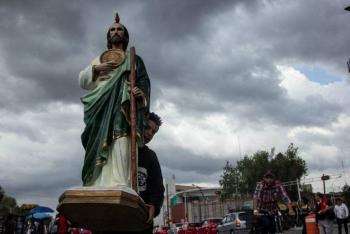 Festejos a San Judas Tadeo serán virtuales por Covid-19