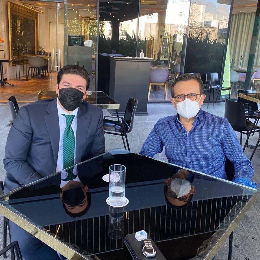 Samuel García e Ildefonso Guajardo construirán alianza para elecciones de 2021