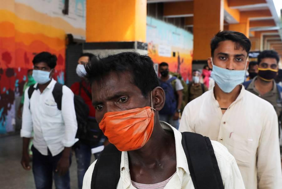 Mitad de la población de India podría tener coronavirus para febrero