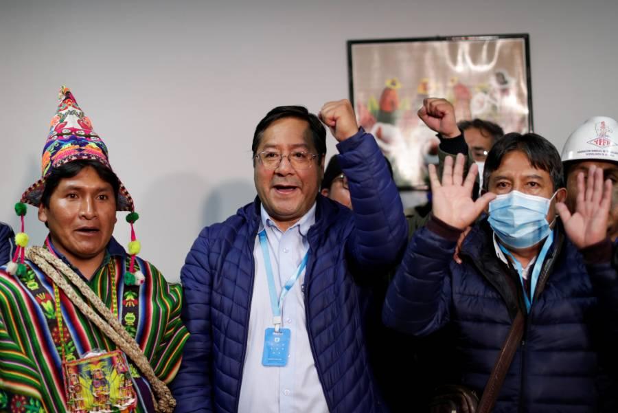 Mesa y Áñez reconocen victoria de Luis Arce como nuevo presidente de Bolivia