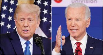 Silenciados los micrófonos de Trump y Biden durante el próximo debate presidencial
