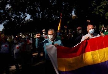 Marchan en España para  pedir juicio a Juan Carlos I