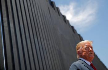 Corte Suprema decidirá legalidad del muro fronterizo de Trump