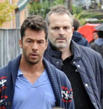 Miguel Bosé y Nacho Palau se encuentran para definir situación de sus hijos