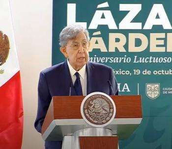 Lázaro Cárdenas respetó a la oposición pese a ataques contra su gobierno: Cuauhtémoc Cárdenas