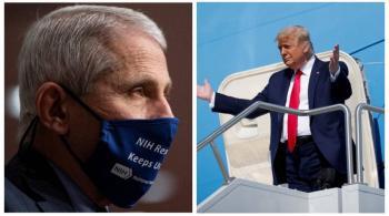 Trump y el Covid; despotrica contra científico de su equipo