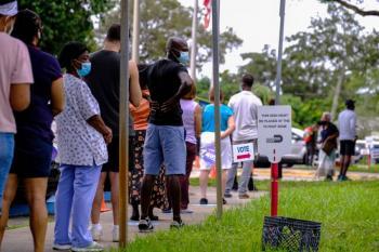 Votos anticipados en EU se acercan a 30 millones y Florida abre urnas
