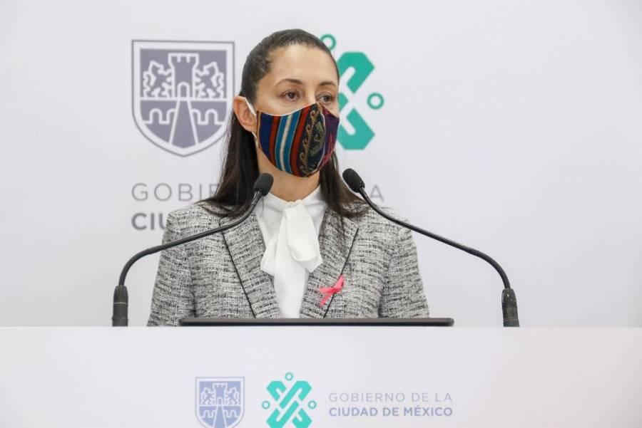 Sheinbaum analizará esta semana comportamiento de la pandemia