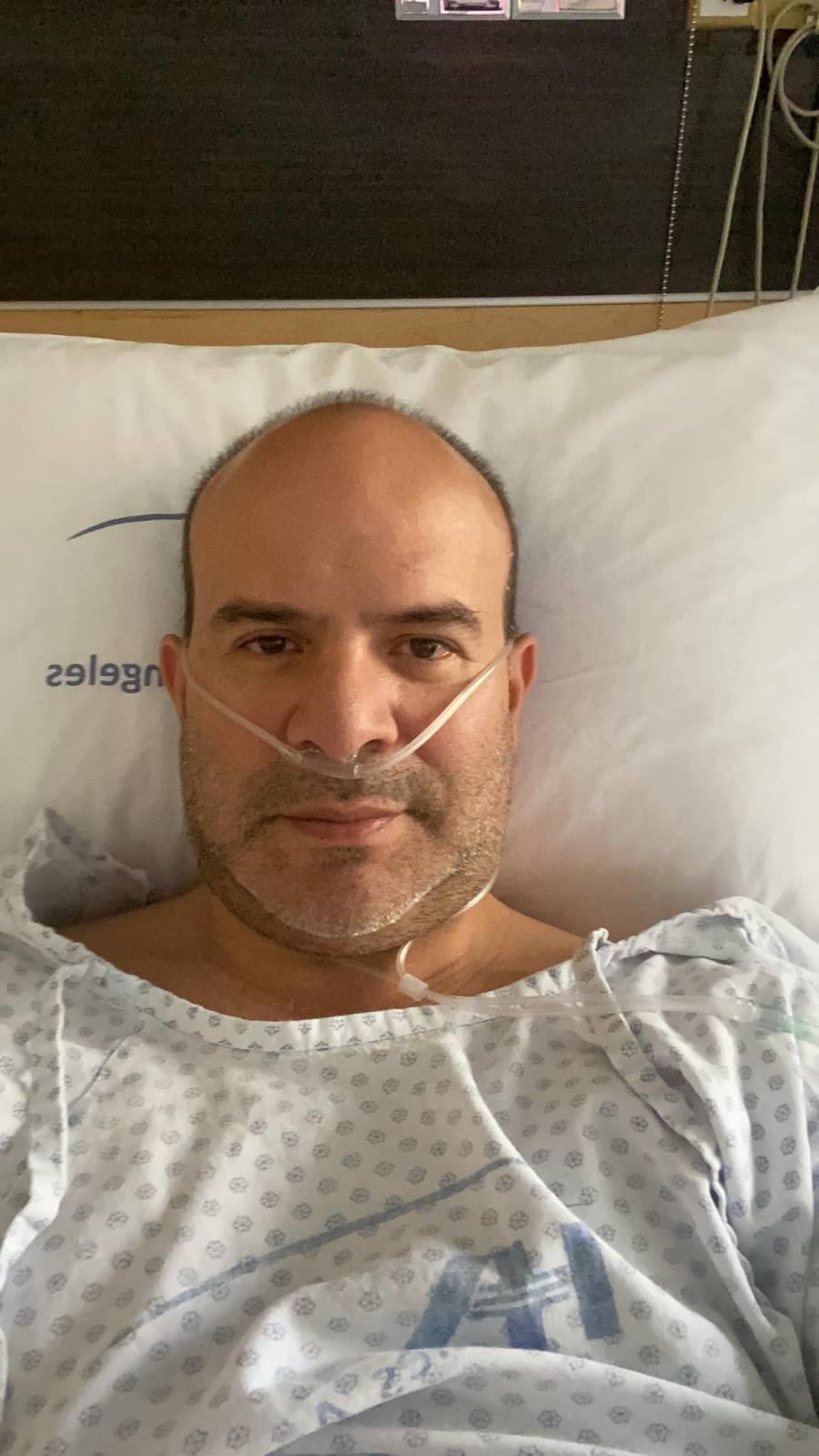 """Hospitalizan a """"Platanito"""": Covid-19 atacó su corazón"""