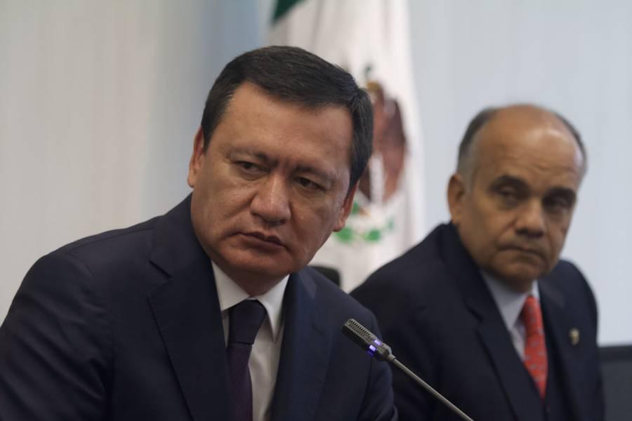 """Osorio Chong, """"sorprendido"""" por detención de Cienfuegos"""