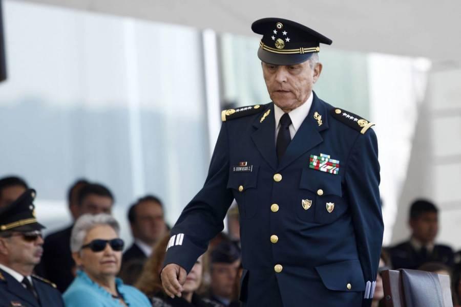EEUU buscaría decomisar vehículos, propiedades y cuentas de Salvador Cienfuegos