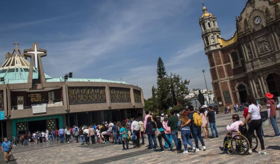 Descartan celebración de misas y homenajes a la Virgen de Guadalupe en la Basílica