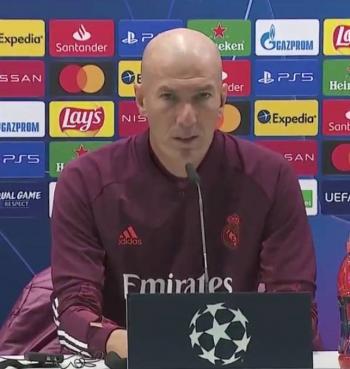 Niega Zidane reservar jugadores en Champions pensando en el Clásico