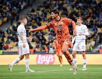 Juventus le pega al Dinamo de Kiev en la Champions