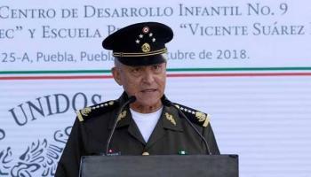 Niegan libertad bajo fianza a Salvador Cienfuegos
