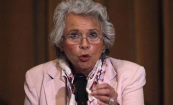 Sánchez Cordero señala misoginia en el Gabinete de Seguridad