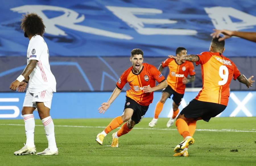 Real Madrid sigue su mala racha y cae ante el Shakhtar