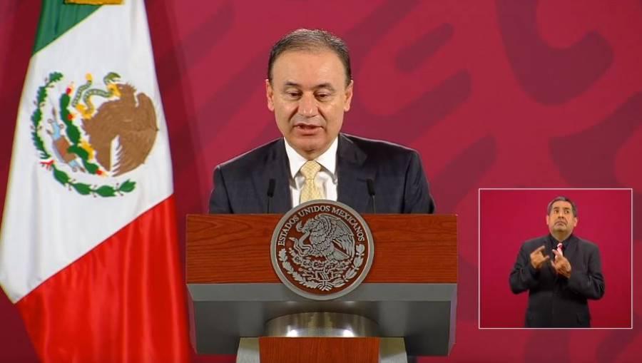 Alfonso Durazo confirma su renuncia; contenderá por gubernatura de Sonora