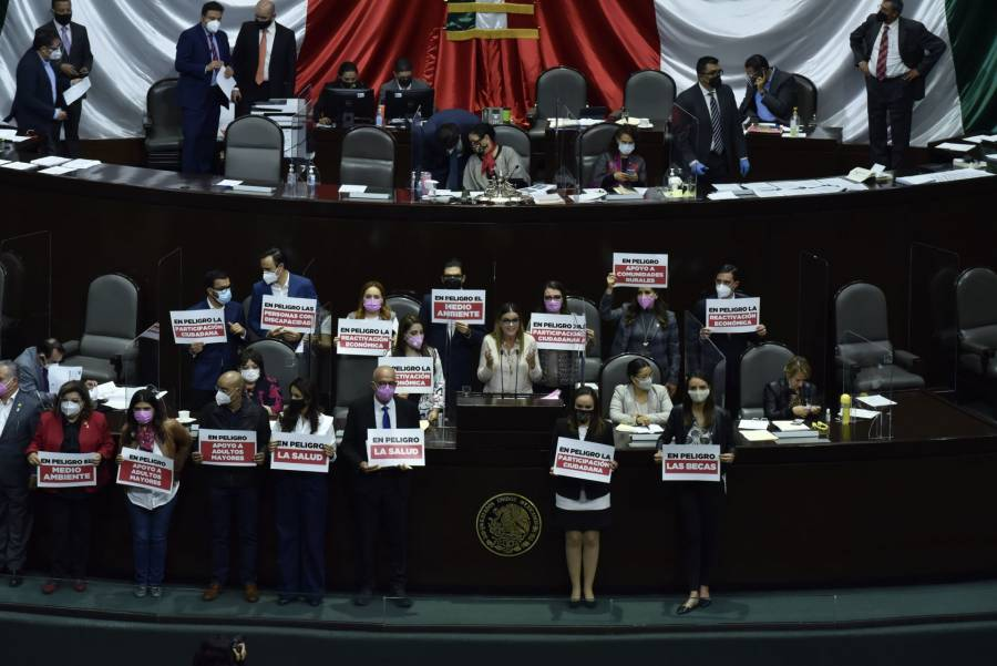 Diputados aprueban Ley de Ingresos por 6.2 billones
