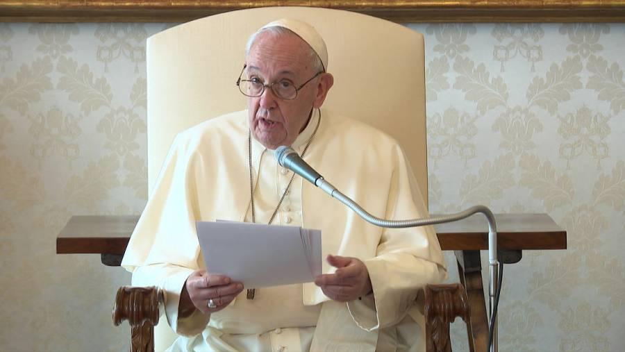 El Papa Francisco respalda por primera vez la unión civil entre homosexuales