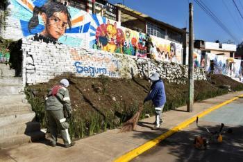 Recuperan entorno urbano para mejorar seguridad en alcaldía La Magdalena Contreras