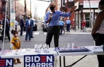 Obama hace campaña por Biden en Pensilvania