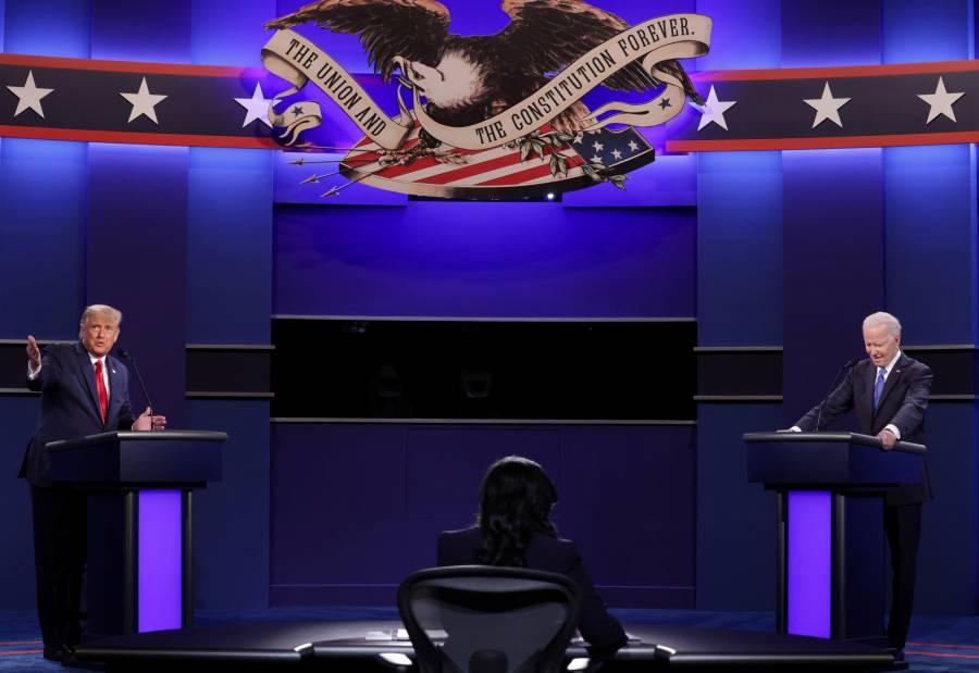 Derrota Trump a Biden  en segundo debate