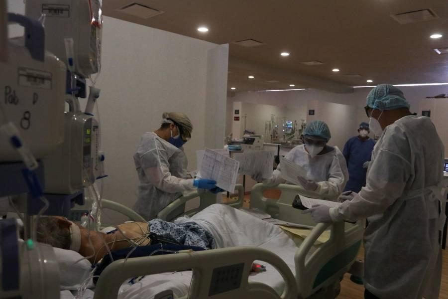 EN CDMX, 430 MÉDICOS SE HAN INFECTADO DE COVID Y 13 HAN MUERTO
