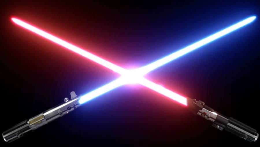 Ingenieros logran crear sable de luz al estilo